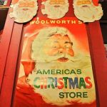 Vintage Woolworth's Christmas on Display