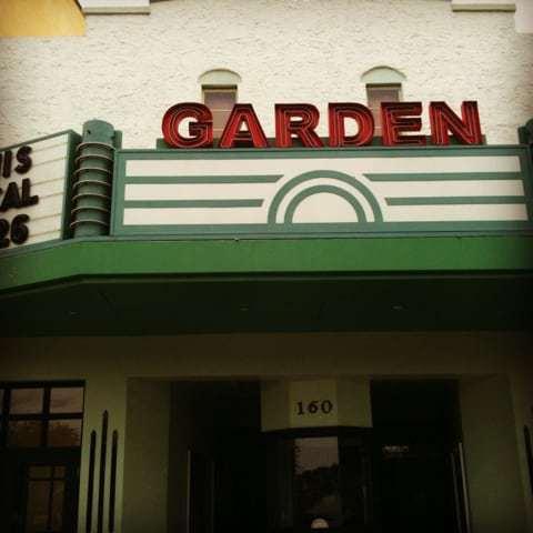 Garden Theatre In Downtown Winter Garden Fl Retro Roadmap