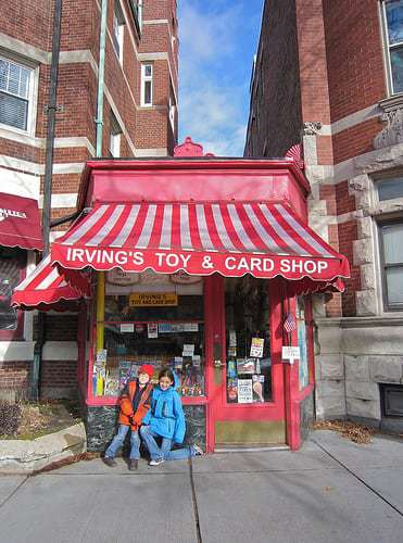 Irving's Toy Store - At 97 Ethel Weiss Still Going Strong!