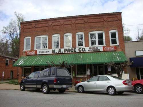 M.A. Pace's Store in Saluda, NC