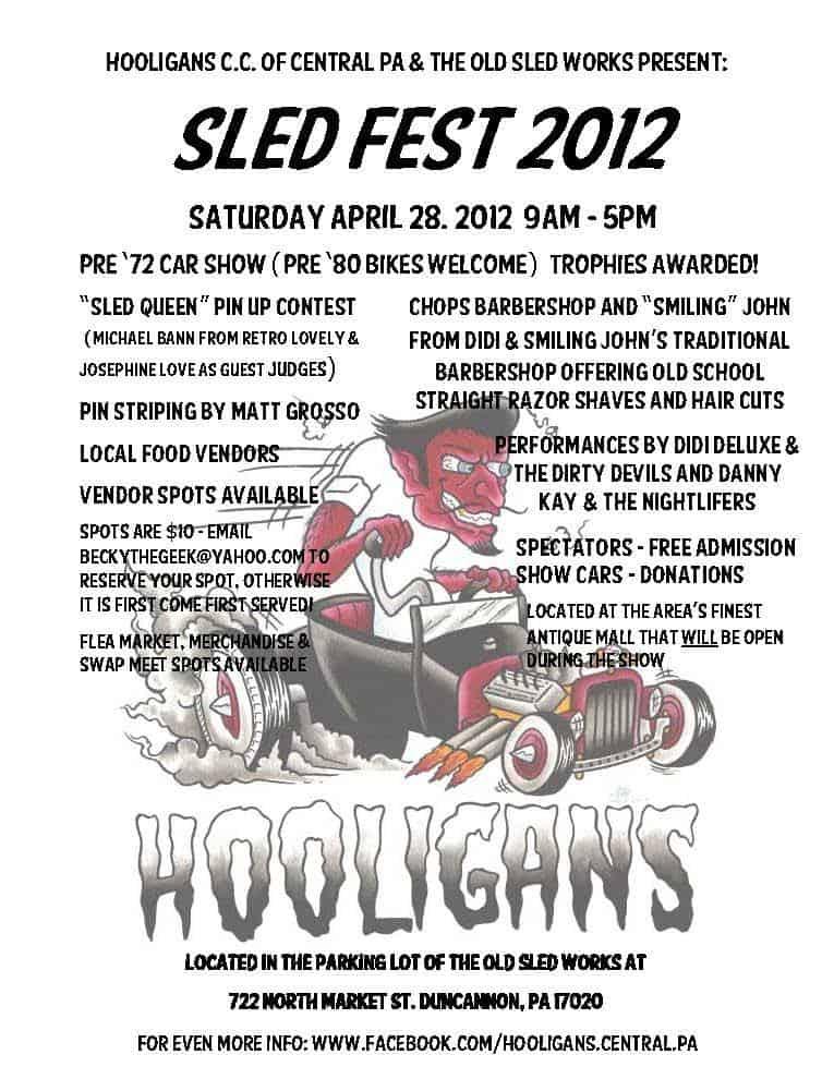 Sledfest 2012 flyer