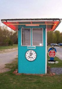 Drive In Movie Theatre Booth Diamond State Delaware