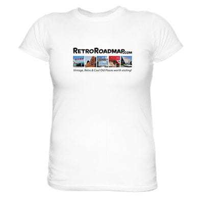 Retro Roadmap Tee Shirt White