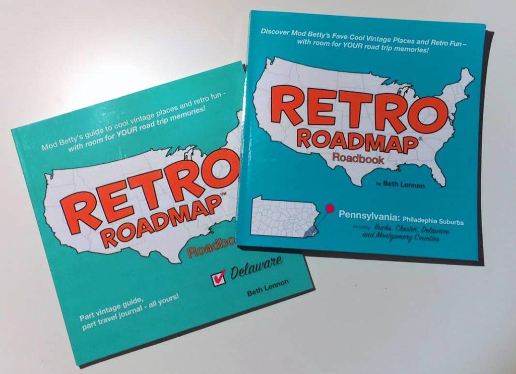 Retro Roadmap Roadbooks Delaware Philadelphia Suburbs Aug 2017