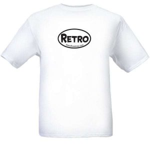 Retro Roadmap Oval Logo tee Shirt mens