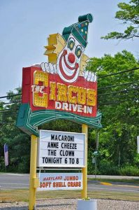 Circus Drive In Restaurant Wall Township NJ