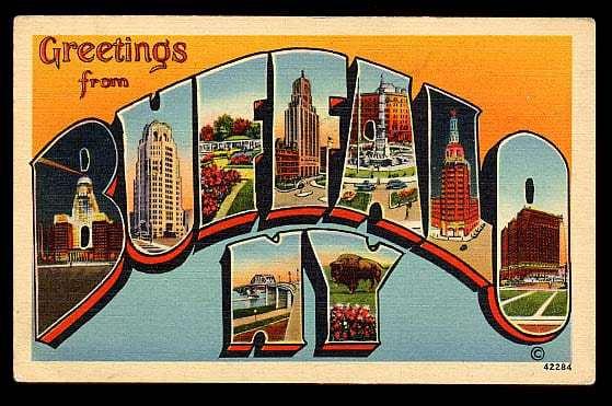 Kazoo Museum - Shuffle off to Vintage Buffalo NY - Retro Roadmap Mega Post!