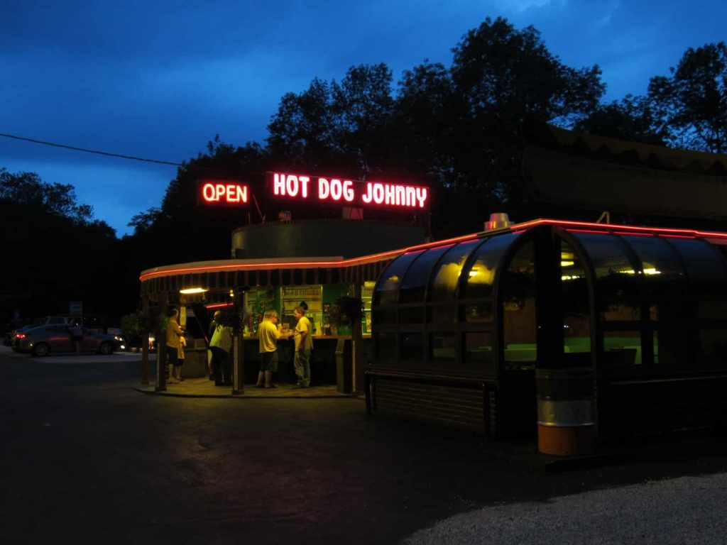 Hot Dog Johnny Butzville Neon