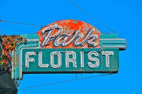 Park Florist - Shuffle off to Vintage Buffalo NY - Retro Roadmap Mega Post!