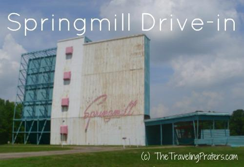 Springmill Drive-In Mansfield, Ohio - Another Retro Reader Recommendation!