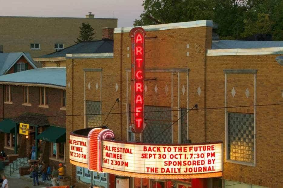 The Artcraft Theatre in Franklin, IN - our First Indiana Retro Roadmap Recommendation!
