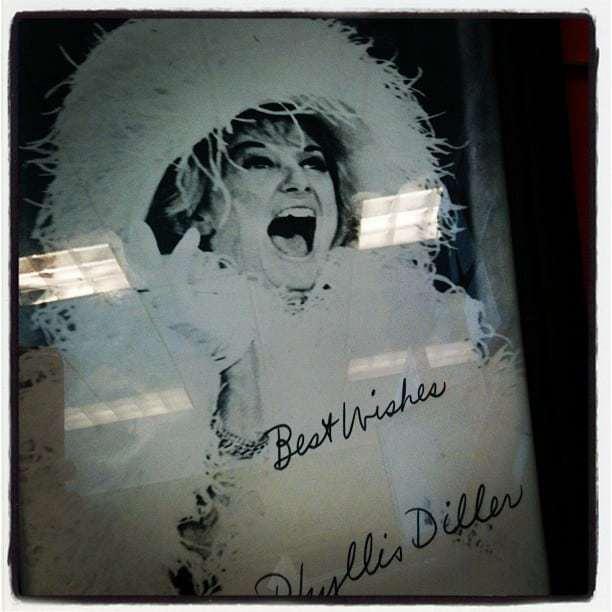 Phyllis Diller Passes Away