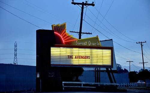 Sunset Drive-In Movie Theatre - San Luis Obispo CA