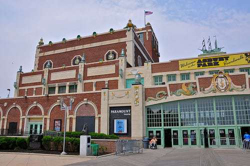 Asbury Park NJ Shore Boardwalk - A Short Walk Through History