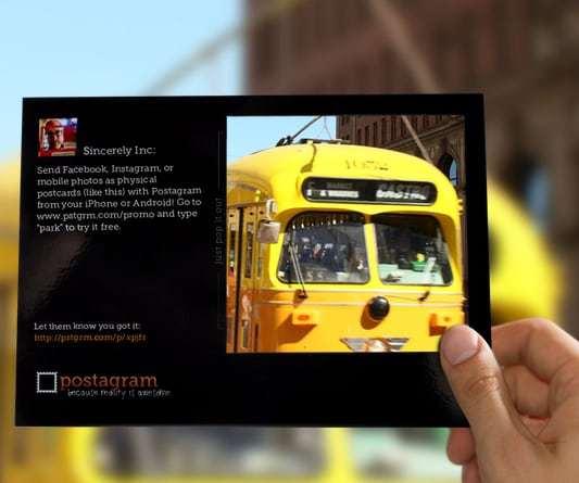 Postagram   Send Real Postcards