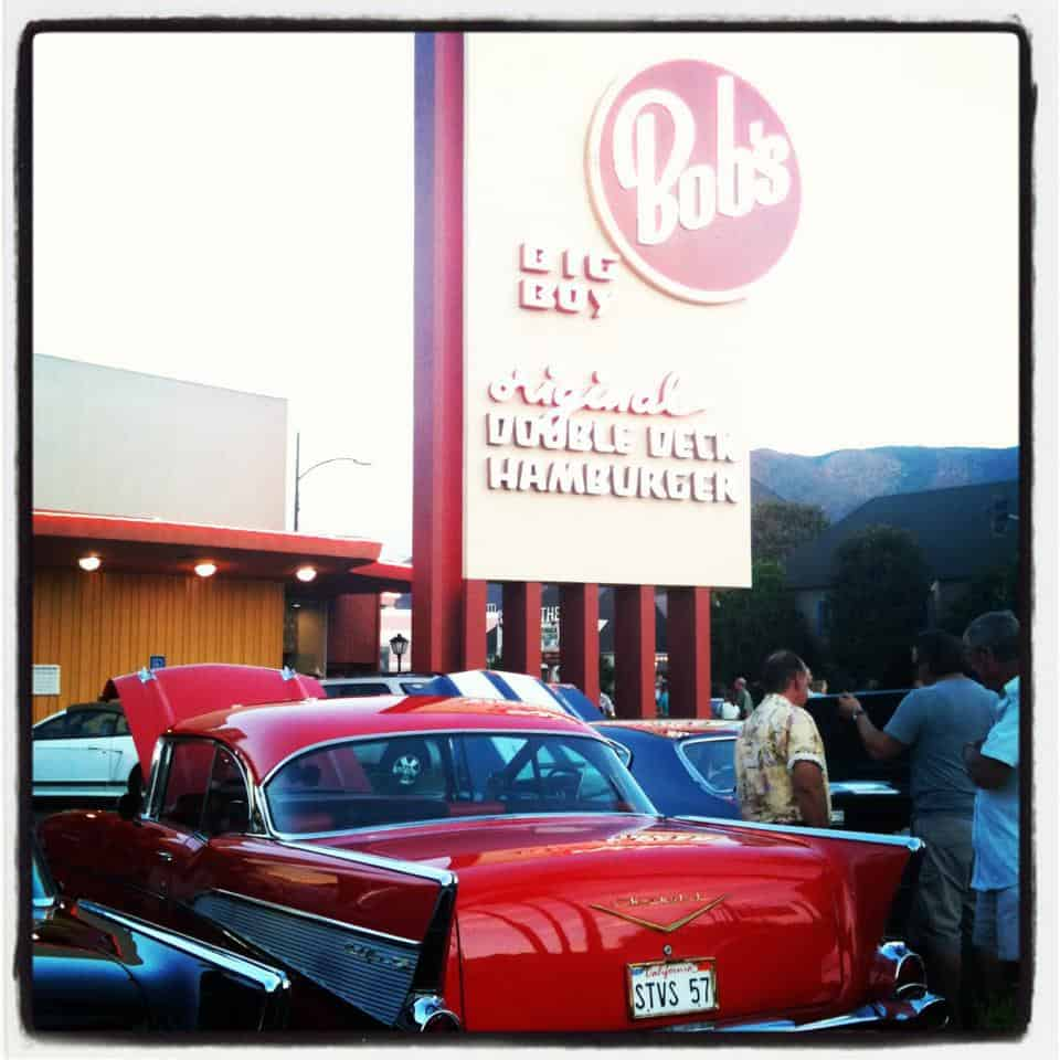 Bobs Big Boy Burbank Cruise Night