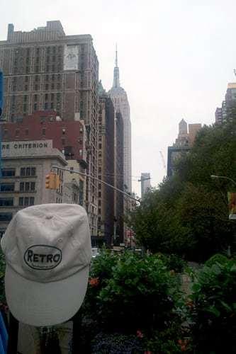 Retro Roadmap Hat Empire State