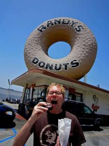 Randy's Donuts Retro Roadmap LAX