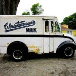 Christiansen's Milk – In Glass Bottles Delivered by Vintage Milk Trucks!