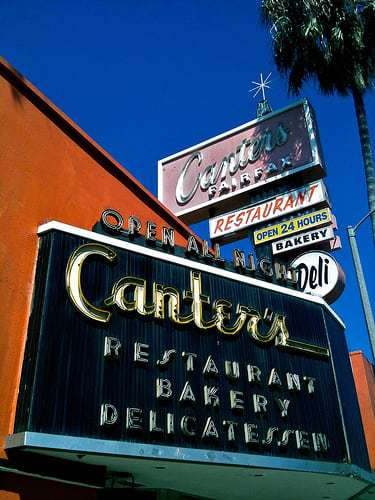 Canter's Deli - Los Angeles CA  Famous and Family Owned Since 1931