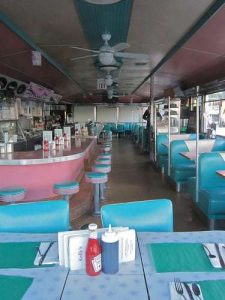 Kelly's Diner Interior Ball Square Somerville MA Retro Roadmap