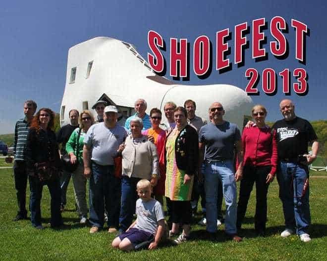 Shoefest 2013 Michael G Stewart Retro Roadmap