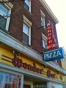 wonder bar worcester ma neon sign retro roadmap
