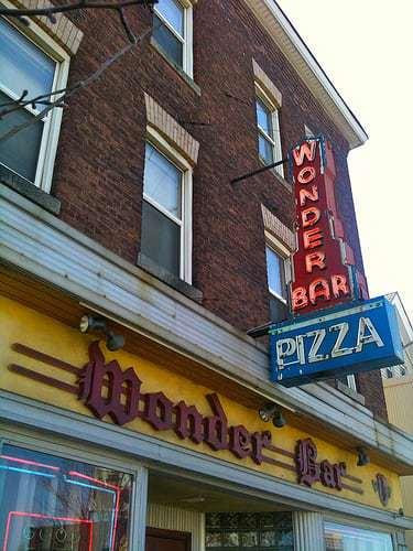 Wonder Bar Worcester MA - Their Bar Style Pizza is Wunderbar!