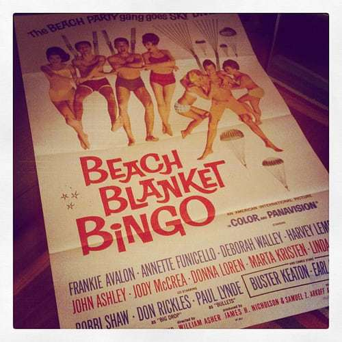 Come Watch Mod Betty's Fave Movie on the Big Screen - Bingo, You've Won!