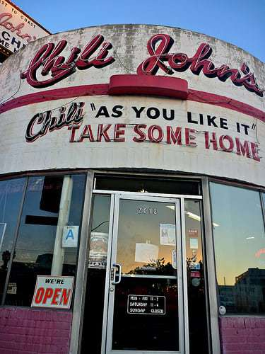 Chili John's: The Oldest Restaurant In Burbank, California is a Gas!