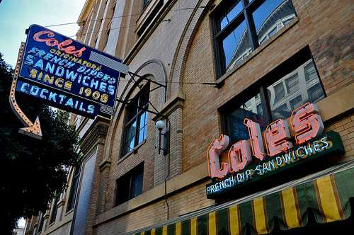 Cole's - Los Angeles Battle For French Dip Supremacy