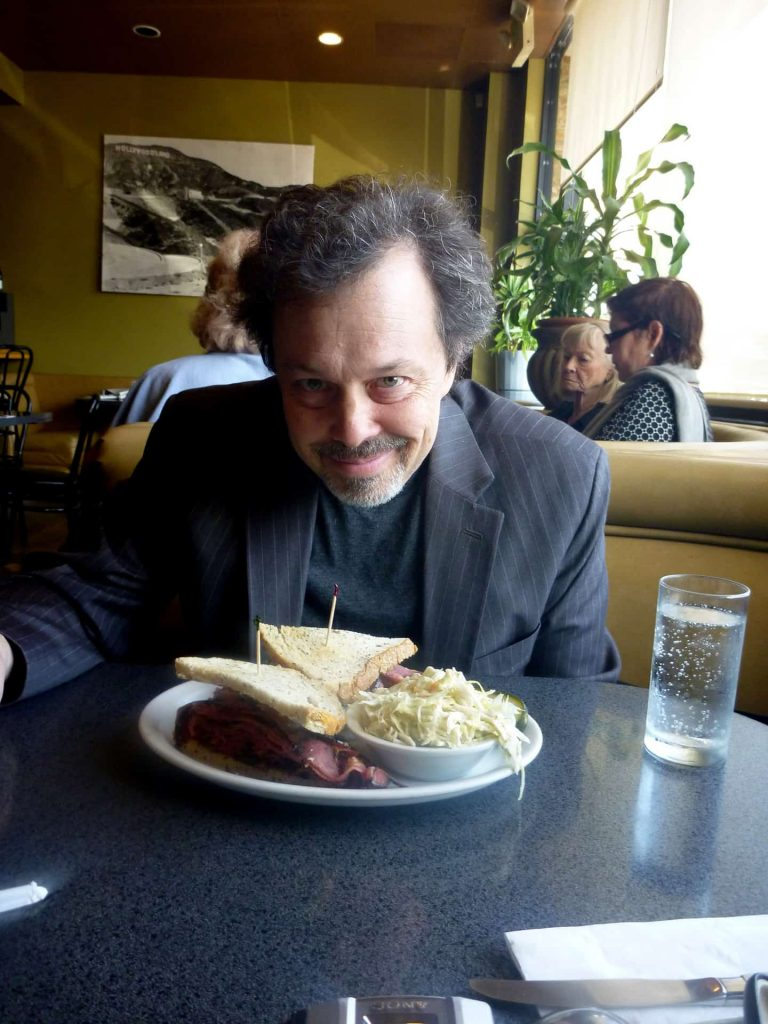 L.A.'s Best Delis: Celebrity Edition!  Curtis Armstrong at Victor's Square