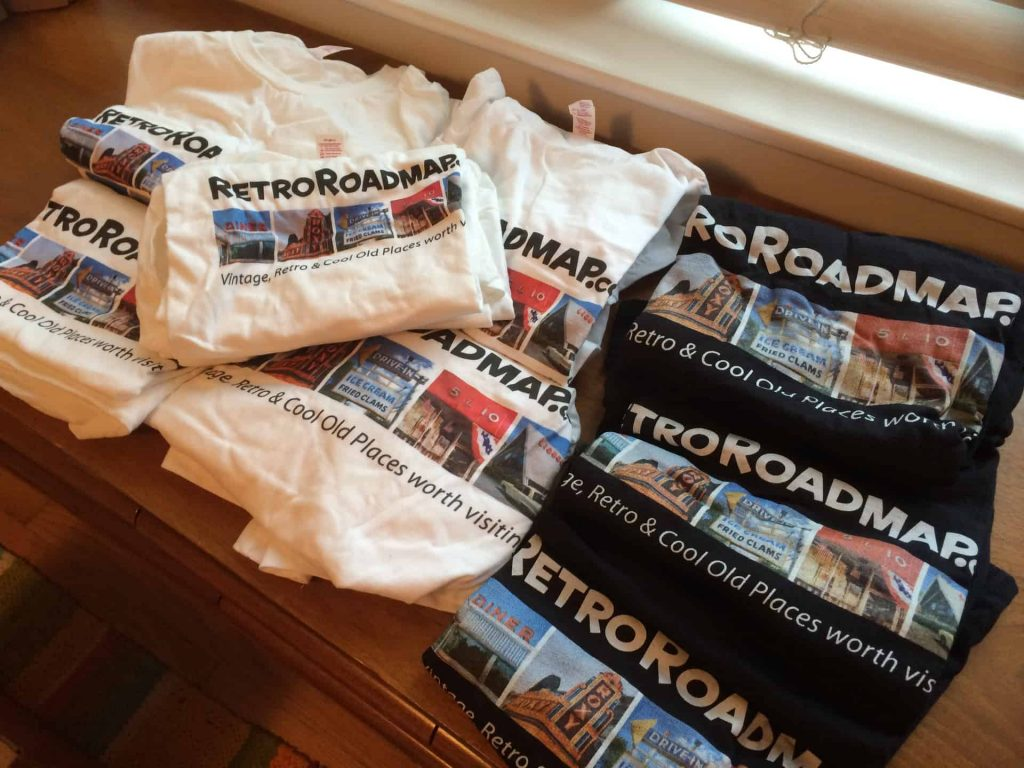 Retro Roadmap Tee Shirts