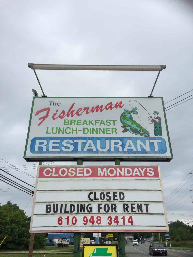 Fisherman Restaurant Phoenixville PA 2014