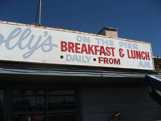 "Polly's On The Pier: ""A Breakfast Treat "" in Redondo Beach CA"