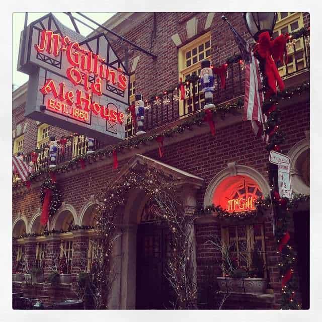 McGillins Old Ale House Retro Roadmap