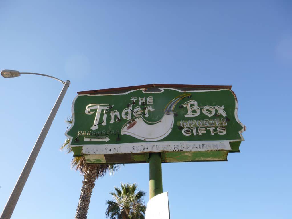 """The Tinder Box Santa Monica, CA -  """"Smoke 'Em If You Got 'Em"""""""