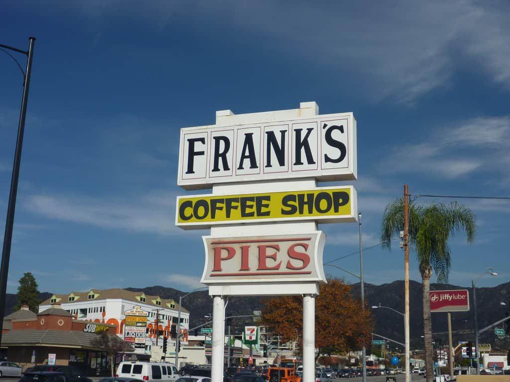 "Frank's Coffee Shop Burbank, CA: ""Dig in Baby!"""
