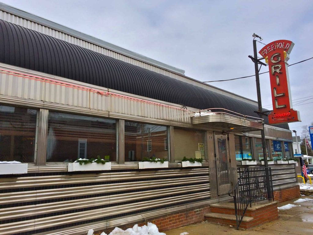 Vintage Diner - NJ Style - Tony's Freehold Grill Since 1947