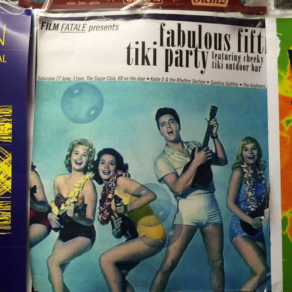 Fabulous Fifties Tiki Party Dublin Ireland - Elvis