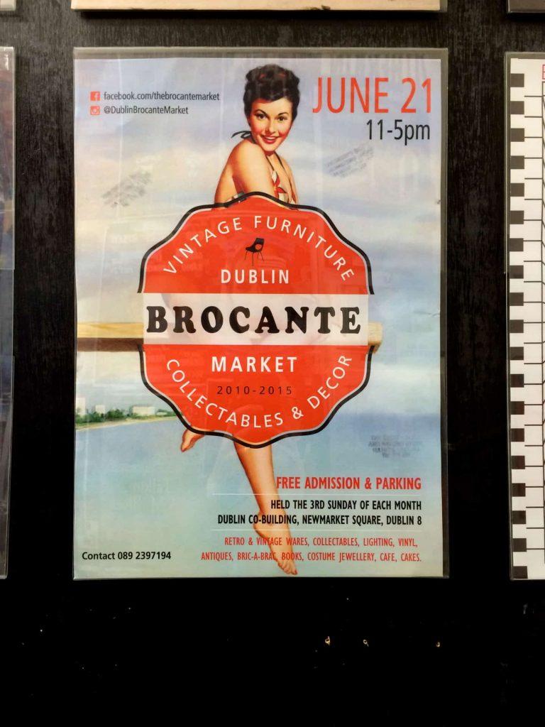 Dublin Ireland Vintage Retro Brocante Market