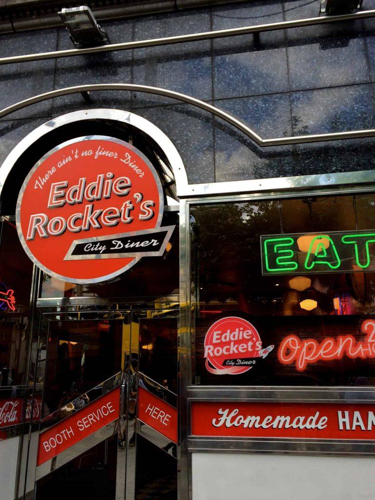 Eddie Rockets Diner - Dublin Ireland