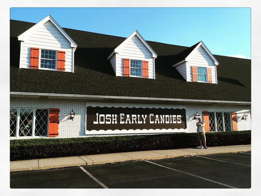 Josh Early Candies Allentown PA Retro Roadmap