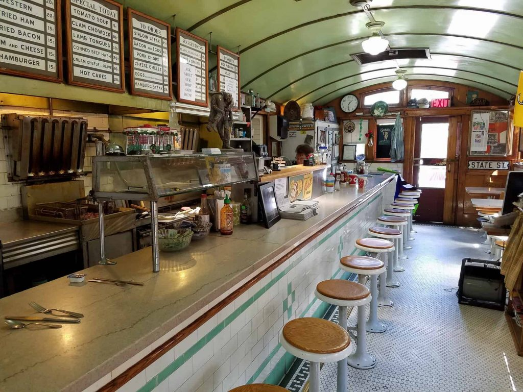 Red Rose Diner Towanda PA - Joe Butrim Photograph Retro Roadmap