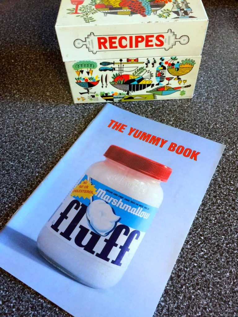 Marshmallow Fluff Yummy Book - Retro Roadmap
