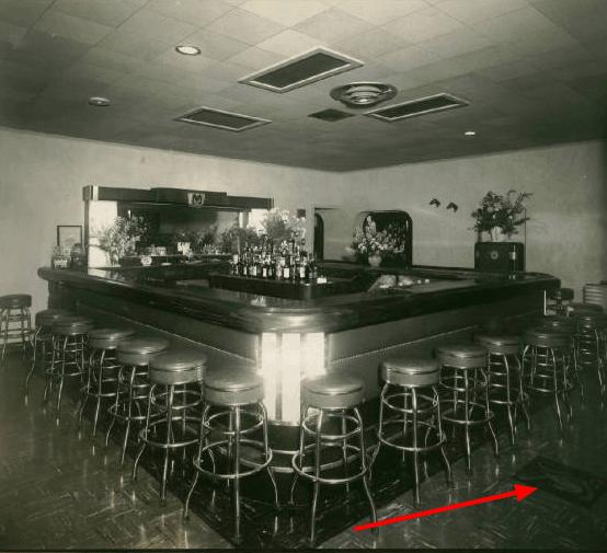 Vintage Photo Blu Tavern Bar Pottsville PA
