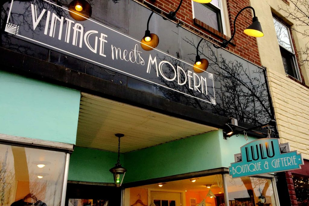 Lulu Boutique and Gifterie - Phoenixville PA Vintage Retro Roadmap