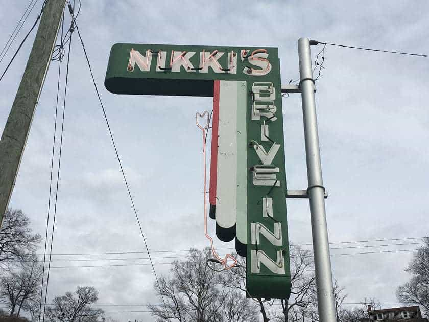 Nikkis Drive Inn Chattanooga 2 TN Marie Lets Eat
