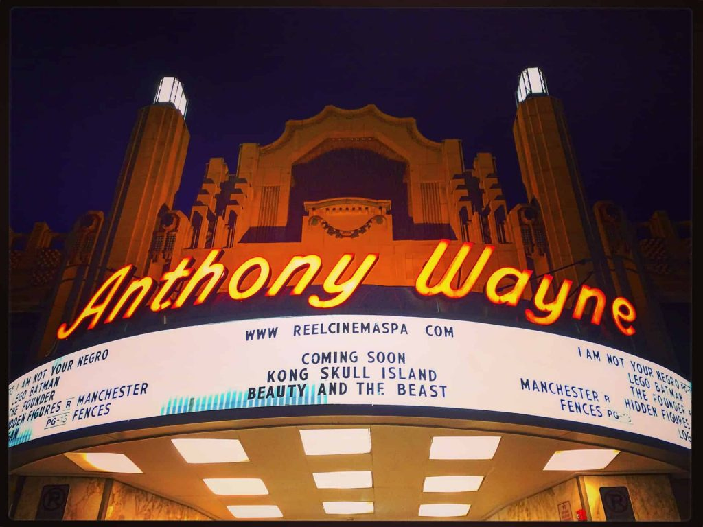 Anthony Wayne Theatre - Wayne PA - Retro Roadmap