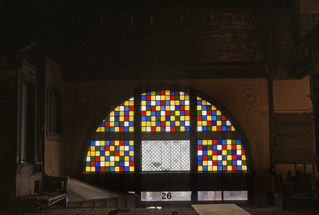 Exeter Street Theatre Boston MA 1984 Stained Glass - Retro Roadmap